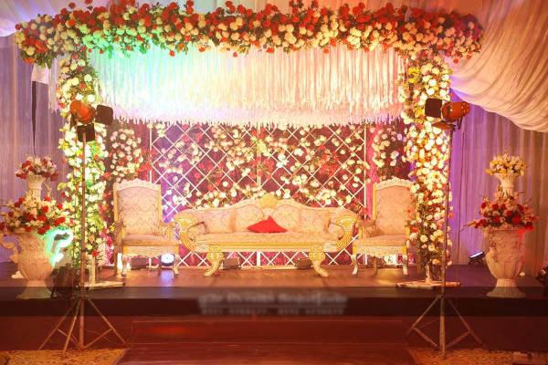Flower Decorations for Stage Designer in Madurai